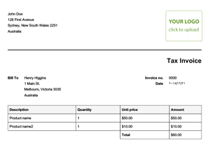 Great Business Invoice Template In Create A Invoice Free