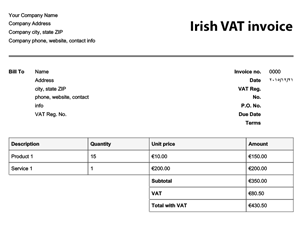 Free Invoice Templates Online Invoices - Free template for invoice